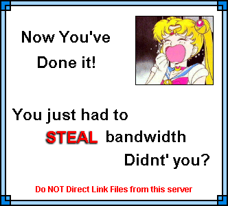 Usagi uses disguise power in the secret room
